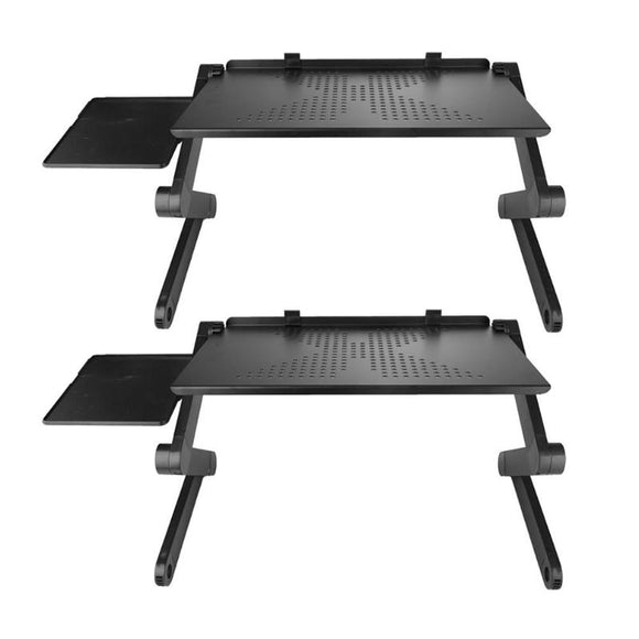 Folding Laptop Table Adjustable Bed Laptop Desk With Cooling Fan for Ultrabook NetbookLaptop Desk Beside Sofa Bed