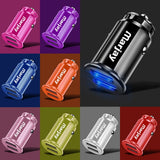 Marjay 3.4A LED Dual USB Car Charger Adapter Fast Car-charger Car Phone Charger For Xiaomi mi9 Samsung S9 iPhone x 7 Tablet GPS