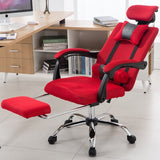 Louis Fashion Office Chair Human Engineering Computer Chair Lifting Reclining Gaming Revolving Chair