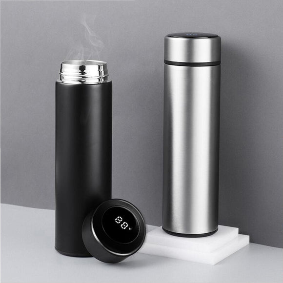 Tumblers Smart Vacuum Insulated Water Bottle with LED Temperature Display Stainless Steel Coffee Thermo Drinkware Hot Cold Drink