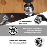 BINOAX Mintiml Wrench Adaptive Universal Socket All-Fitting Multi Drill Attachment Tools