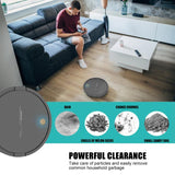 ALLOET DA628 Intelligent Robot Vacuum Cleaner USB Charging Household Wireless Sweeping Robot Dust Hair Cleaning Vacuum Cleaner