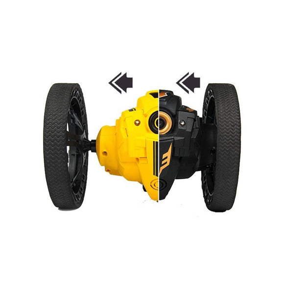 TAW-C6 WiFi RC Jumping Car Jump High Speed Stunt Car Video Music Bounce Car with Music LED Headlights RC Bounce Car