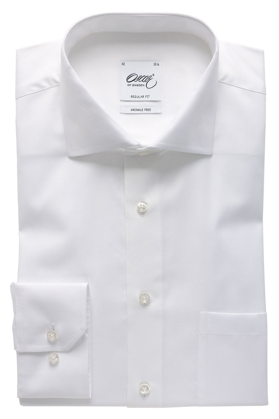 White royal oxford regular fit shirt