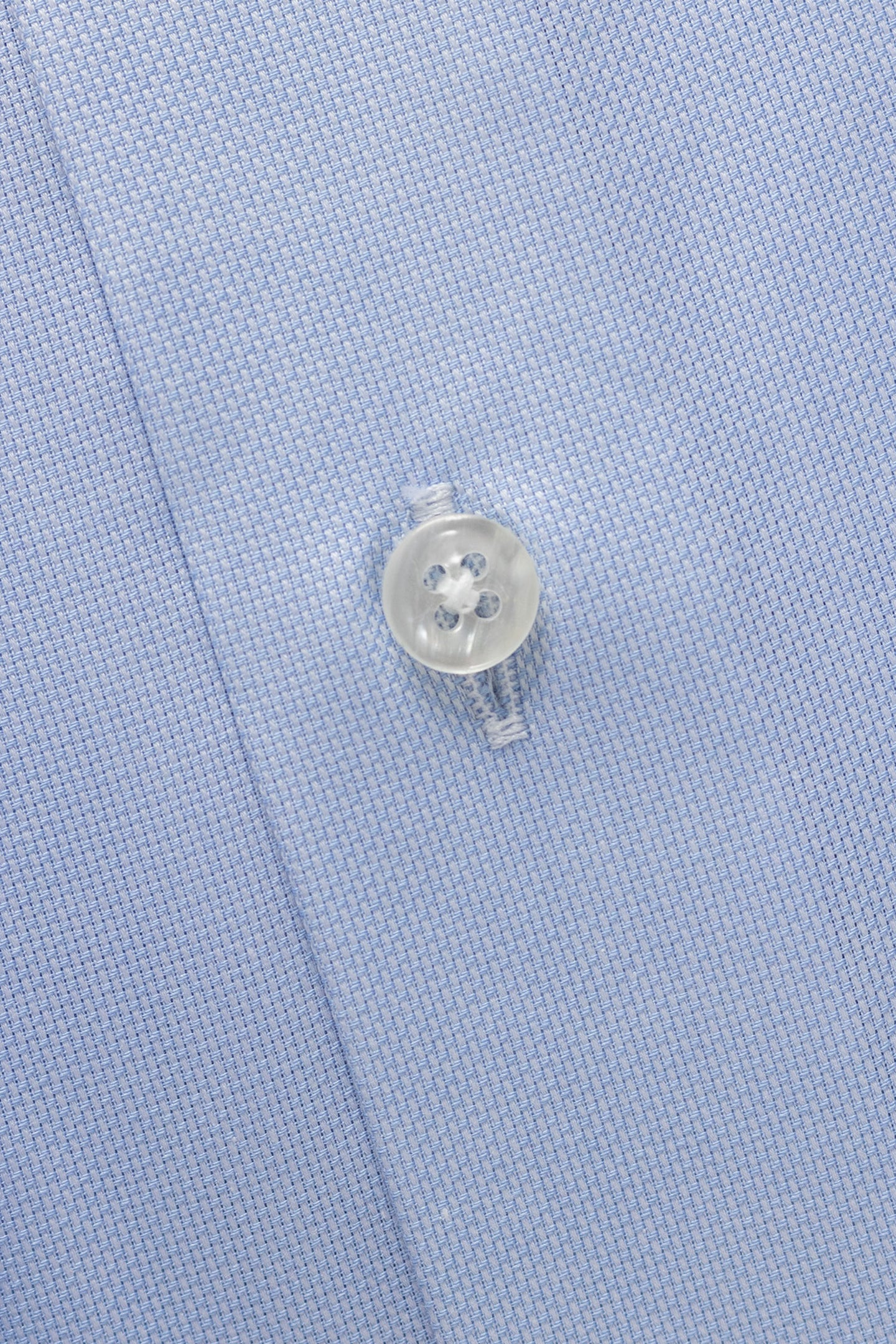 Light blue royal oxford regular fit shirt