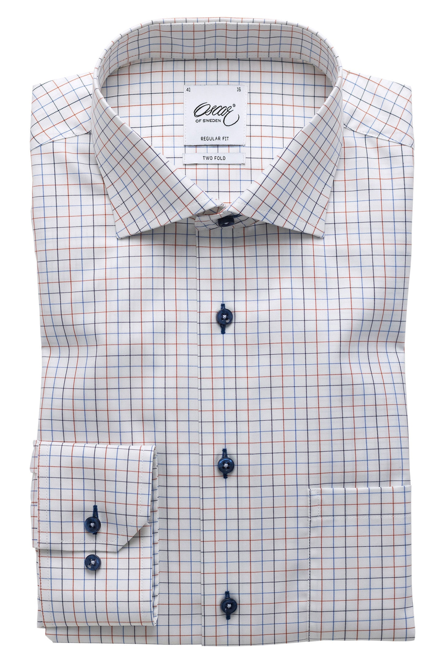 Multi color checked regular fit shirt