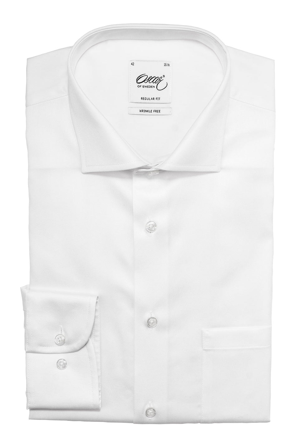 White regular fit shirt