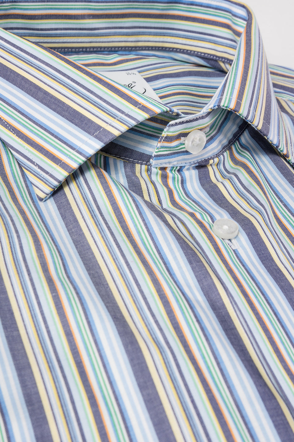 Multi color striped regular fit shirt
