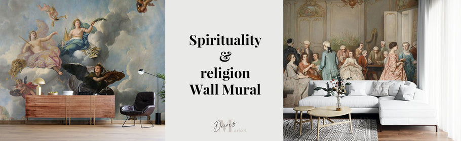 Our spirituality & religion wall murals will make your walls sounds appealing!
