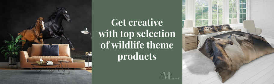 Get creative and animal-happy with our top 20 wildlife themed products