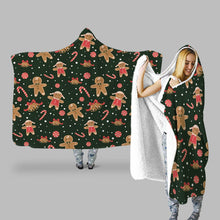 Load image into Gallery viewer, Decors Market Images for Products Hooded Throw Blanket