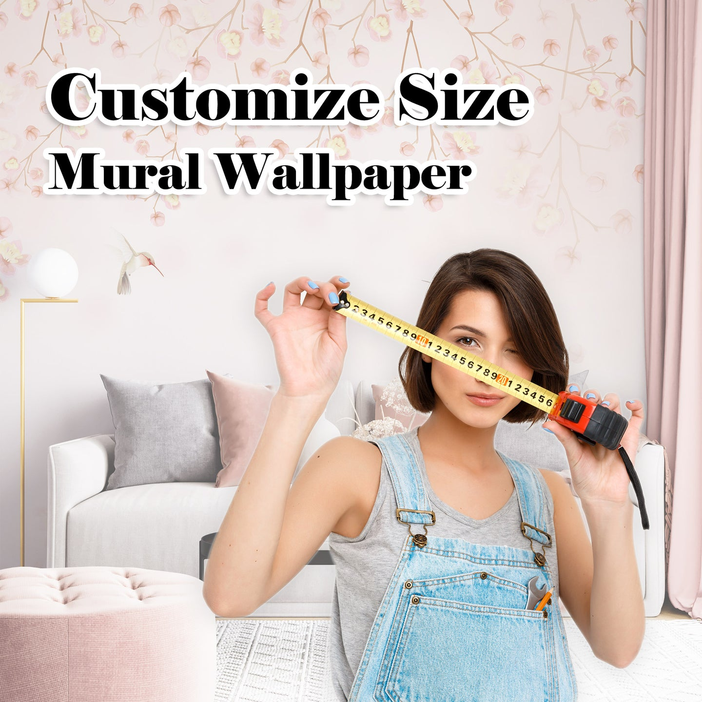 Customize Size Mural Wallpaper