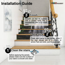 Load image into Gallery viewer, Decors Market Images for Products Stair Riser Decal