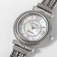 Load image into Gallery viewer, Ecclissi Sterling Silver Mother of Pearl Dial watch
