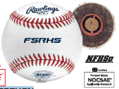 Rawlings Game Baseballs (NFHS Approved)