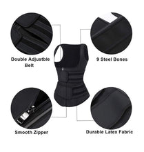Load image into Gallery viewer, 100 % Latex vest cinturilla chaleco +Velcro
