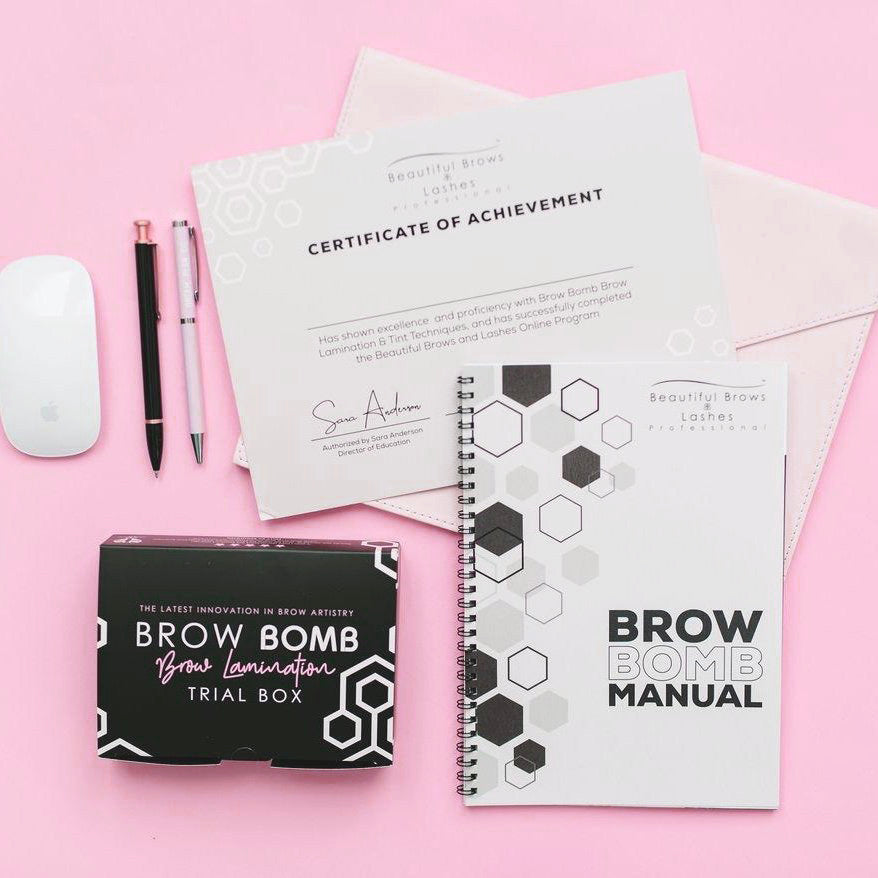 Brow Bomb - Brow Lamination Training Course
