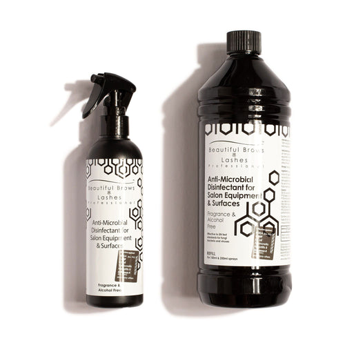 Lash Bomb USA - Antimicrobial Disinfectant Duo