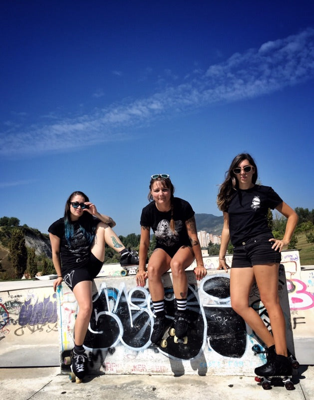 The Shred Sisters (from left to right) Helly, Cissy and Lielie