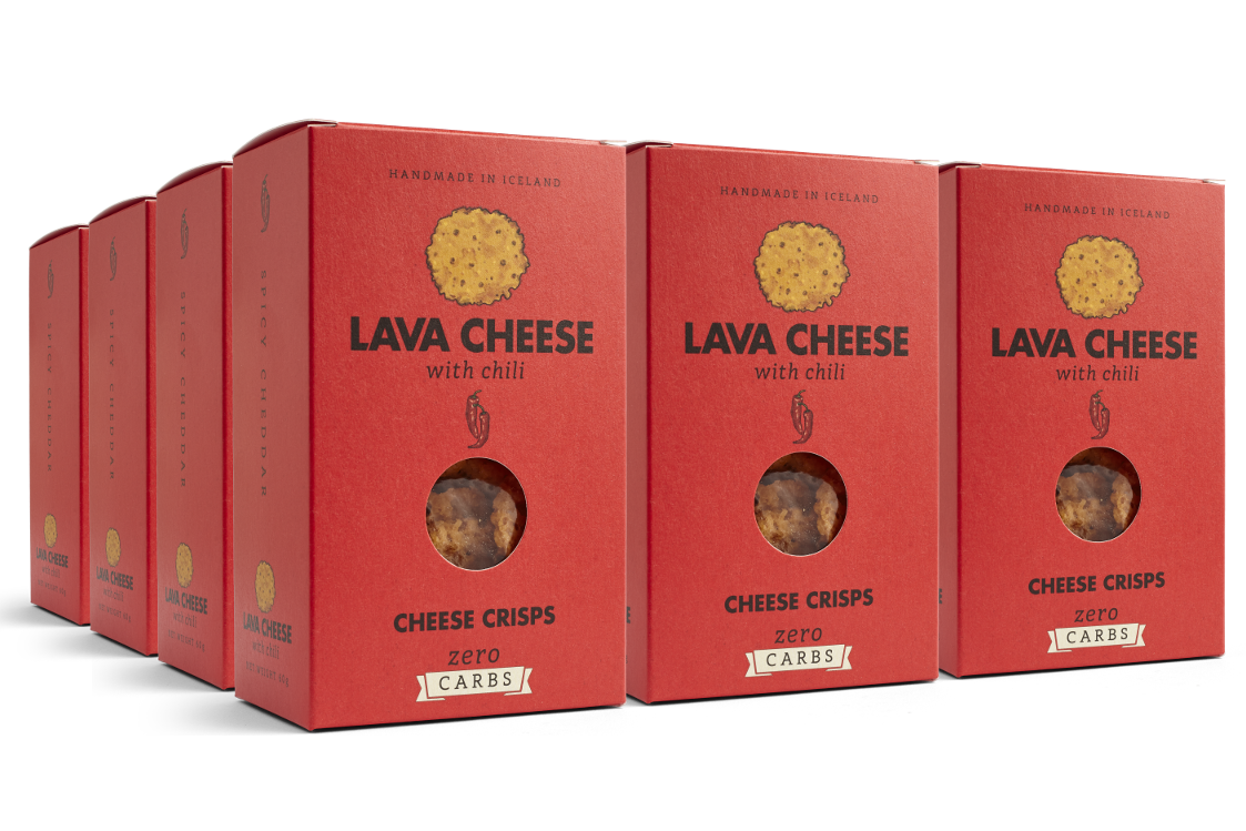 Lava Cheese med Chili 12 pack