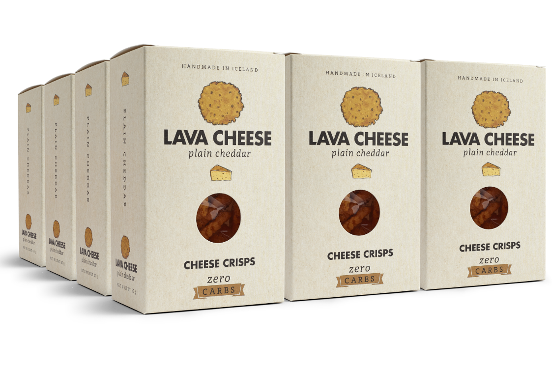 Lava Cheese Vanlig Cheddar 12 pack