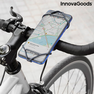 Support Universel pour Smartphone pour Vélos Movaik InnovaGoods