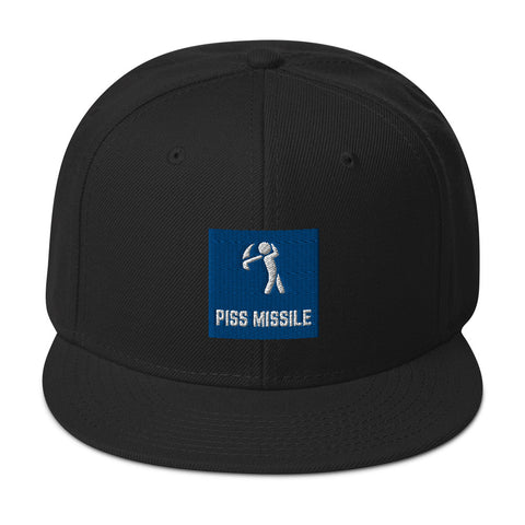 Piss Missile Snapback Hat