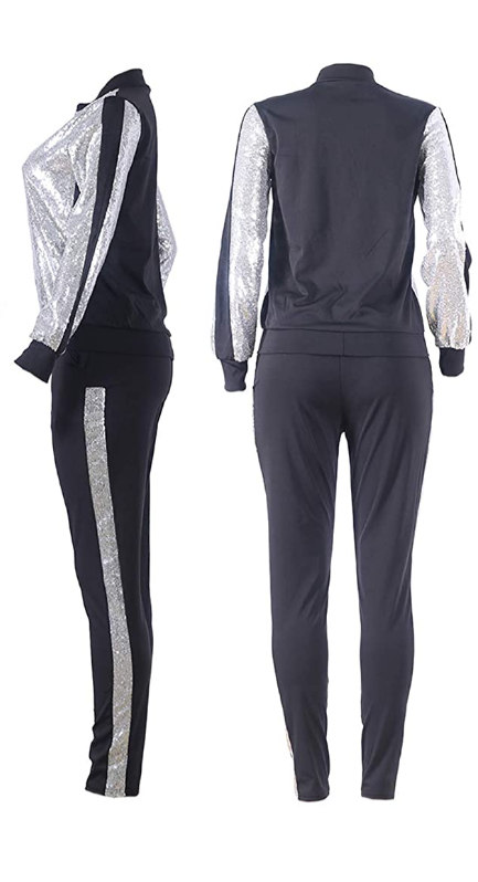 Sequins nightclub jogger