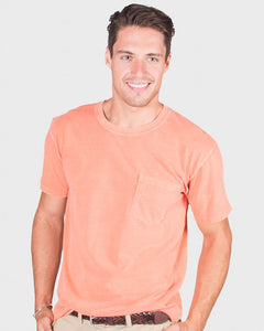 Men's Short Sleeve Heavyweight Crew Tee With Pocket