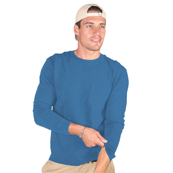 Men's Midweight Long Sleeve With Pocket