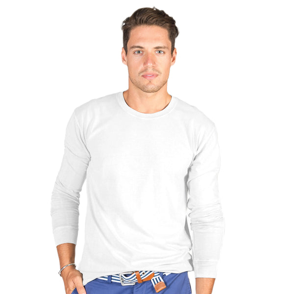 Men's Heavyweight Long Sleeve Crew