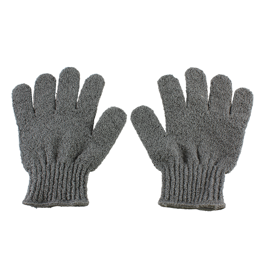 Carbonised Bamboo Exfoliation Gloves