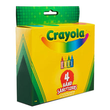 Load image into Gallery viewer, Crayola 2 fl. oz. 4-Pack Hand Sanitizer