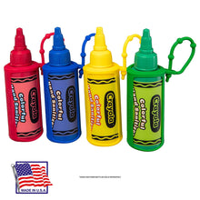 Load image into Gallery viewer, Crayola 2 fl. oz. 4-Pack Hand Sanitizer Keychain Backpack Holder