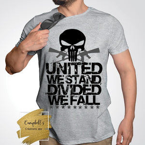United We Stand Divided We Fall Tee