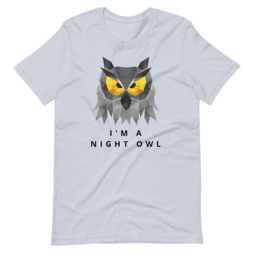 Short-Sleeve Unisex T-Shirt Night Owl 2021 - Starsy