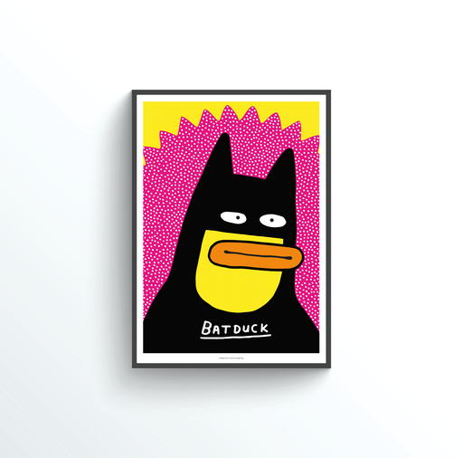Batduck by Al Murphy - Art of Ping Pong