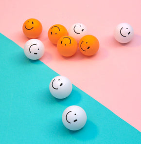 Smiley Wink Balls - Art of Ping Pong