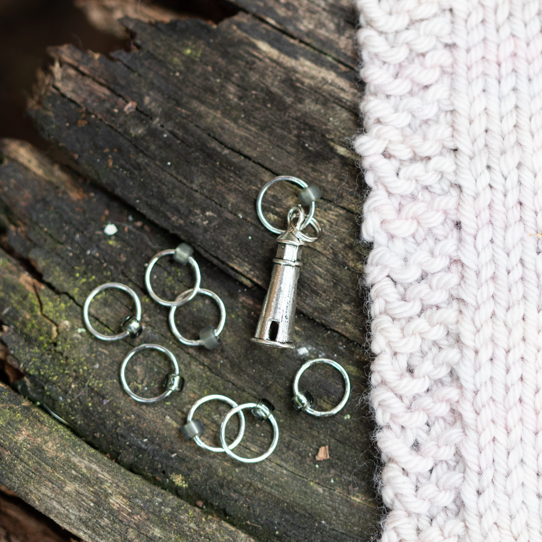 Harbor Me stitch markers