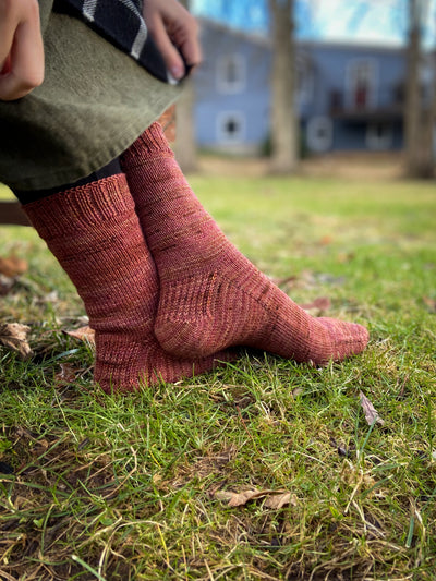 Warm Feet for Everybody socks | PDF pattern (free)