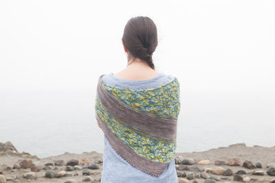Time Traveler shawl kit | inspired by Outlander