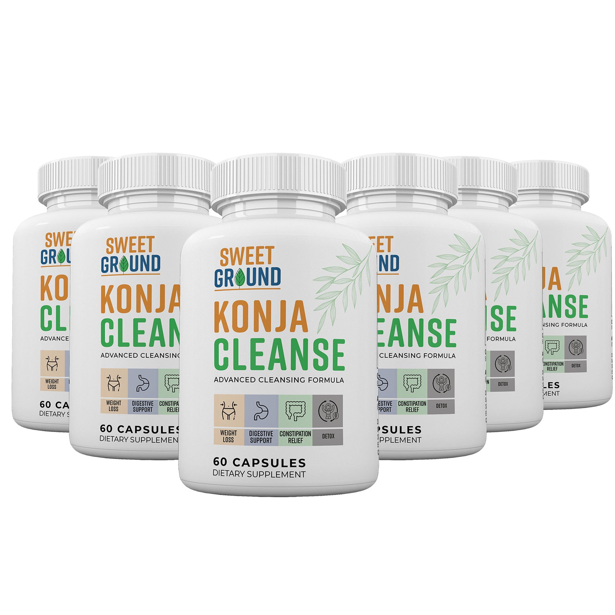 KonjaCleanse - 6 Month Supply (Best Seller)