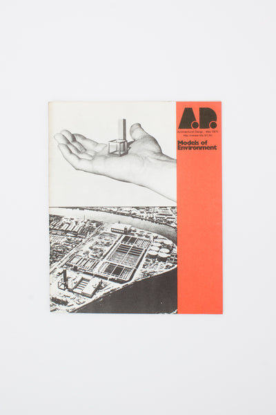 [Four issues of Architectural Design, 1971] - Monica Pidgeon ed.