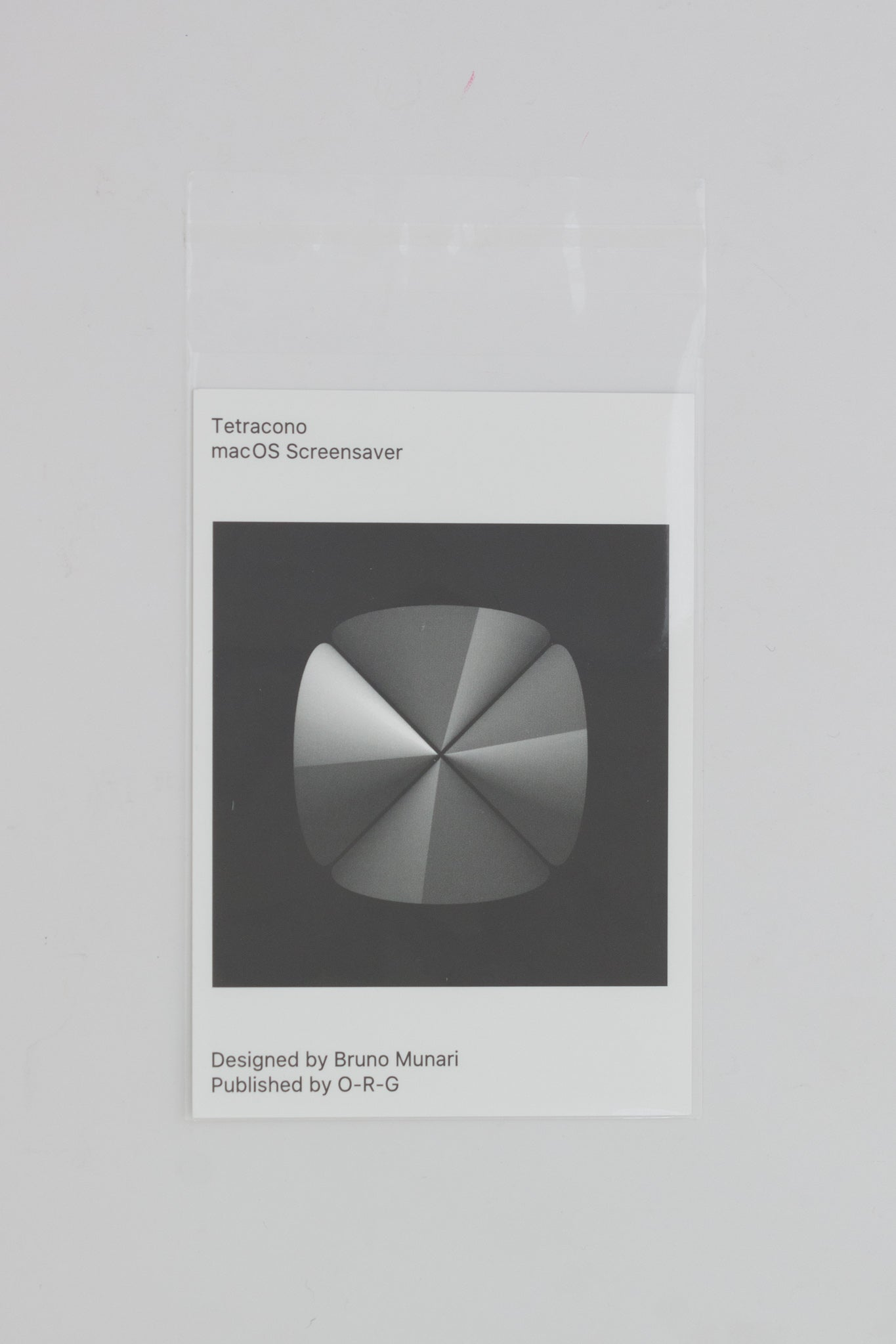 Tetracono macOS Screensaver - Bruno Munari