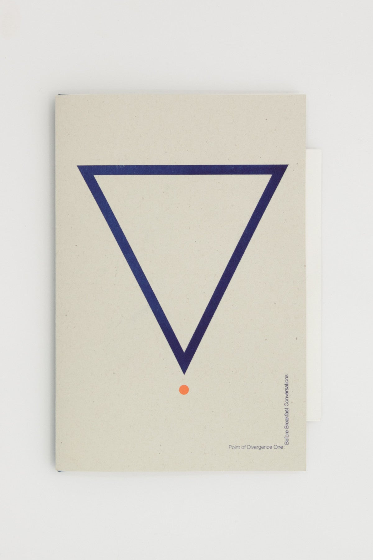 Point of Divergence One: before breakfast conversations @ Tenderbooks