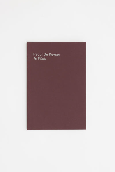 To Walk - Raoul de Keyser