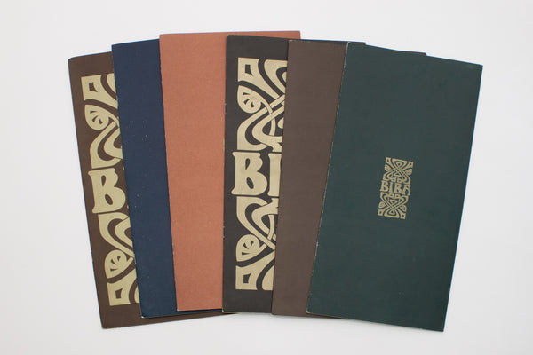Complete set of Biba mail order catalogues [with original envelopes].London, 1968-1969 - Biba (firm)
