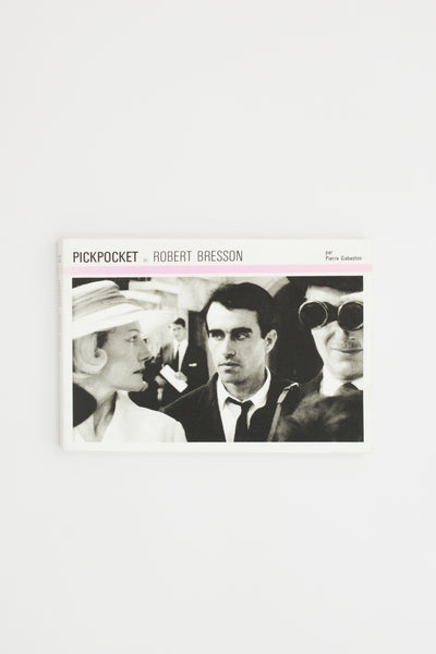 Pickpocket - Robert Bresson and Pierre Gabaston