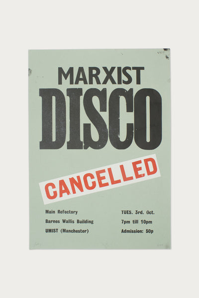 Marxist Disco (Cancelled) - Scott King