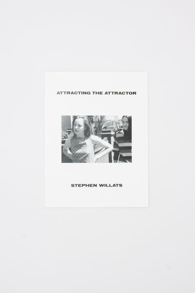 Attracting the Attractor - Stephen Willats
